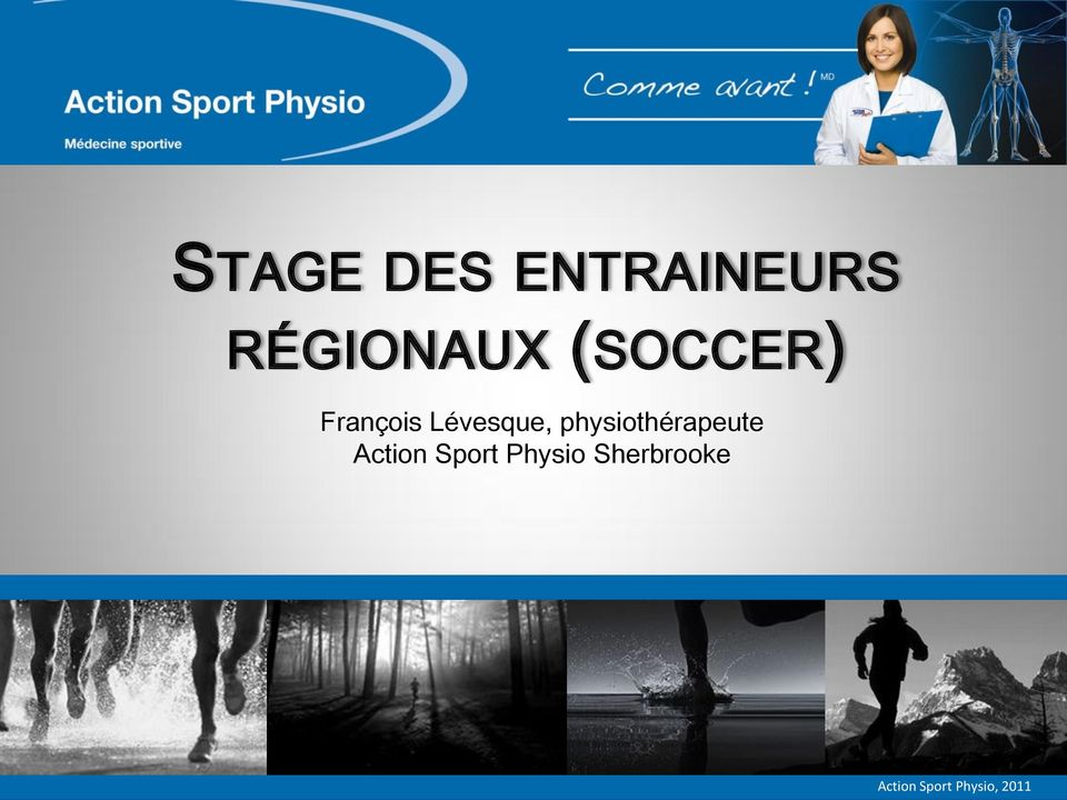 physiothérapeute Action Sport