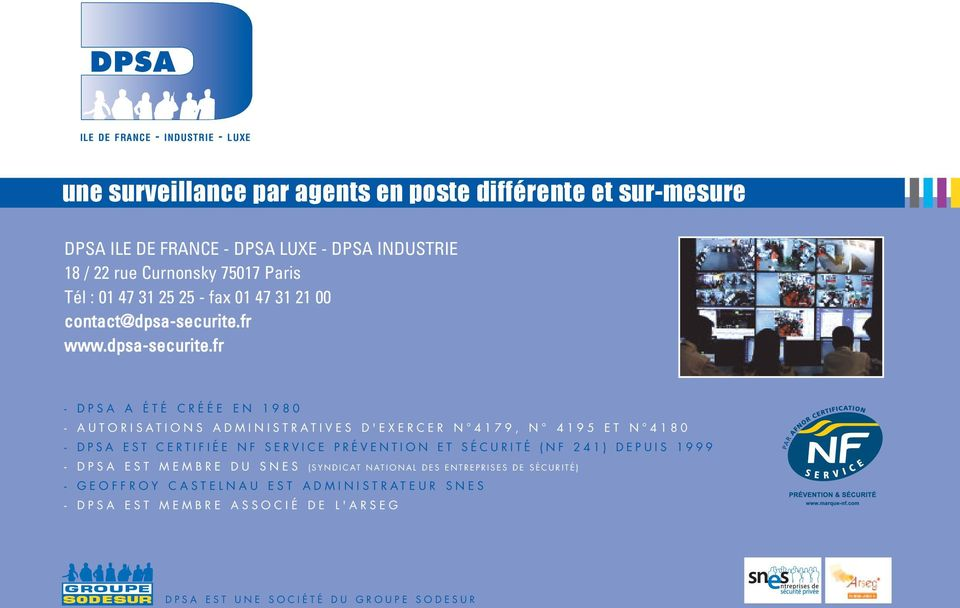 fr www.dpsa-securite.
