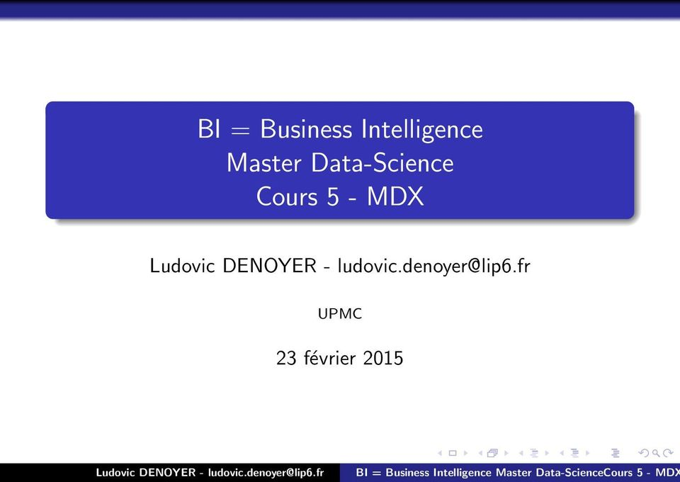 Data-Science Cours 5