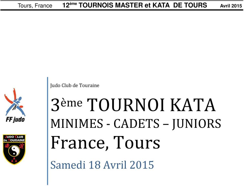 - CADETS JUNIORS France,
