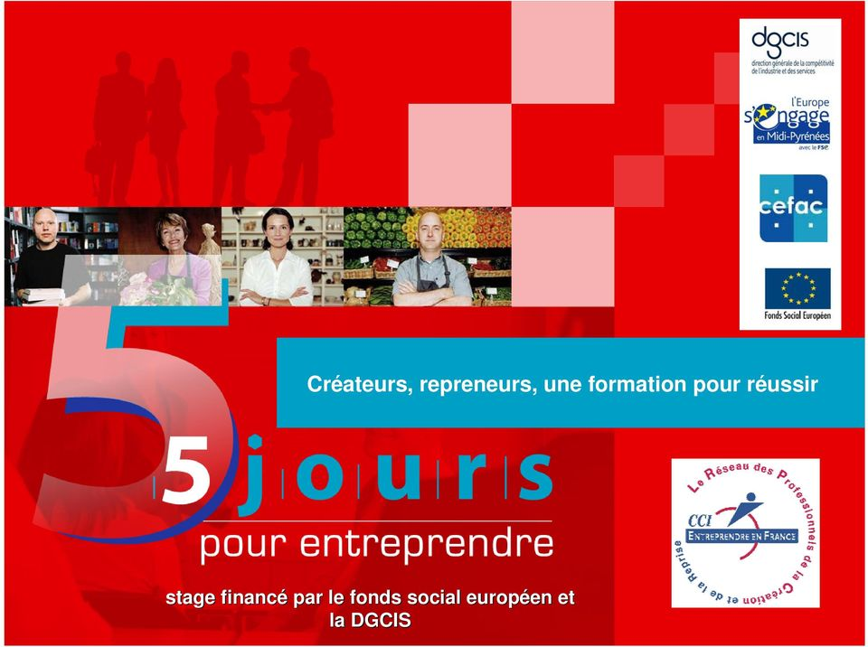 stage financé par le fonds