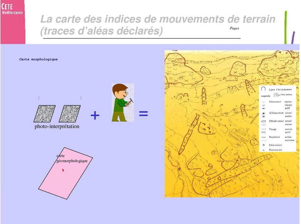 Carte morphologique photo-interpr