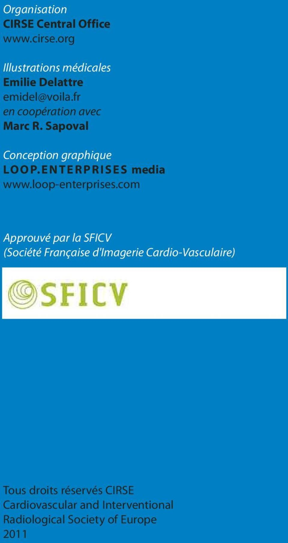 Sapoval Conception graphique LOOP. ENTERPRISES media www.loop-enterprises.