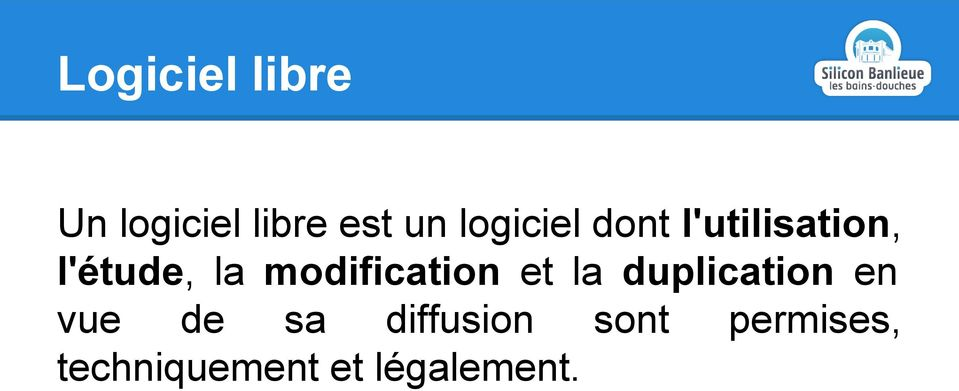 modification et la duplication en vue de sa