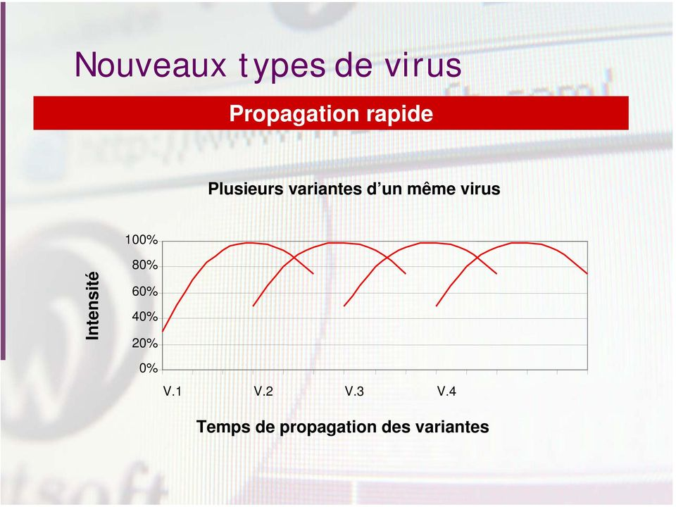 virus 100% Intensité 80% 60% 40% 20% 0%