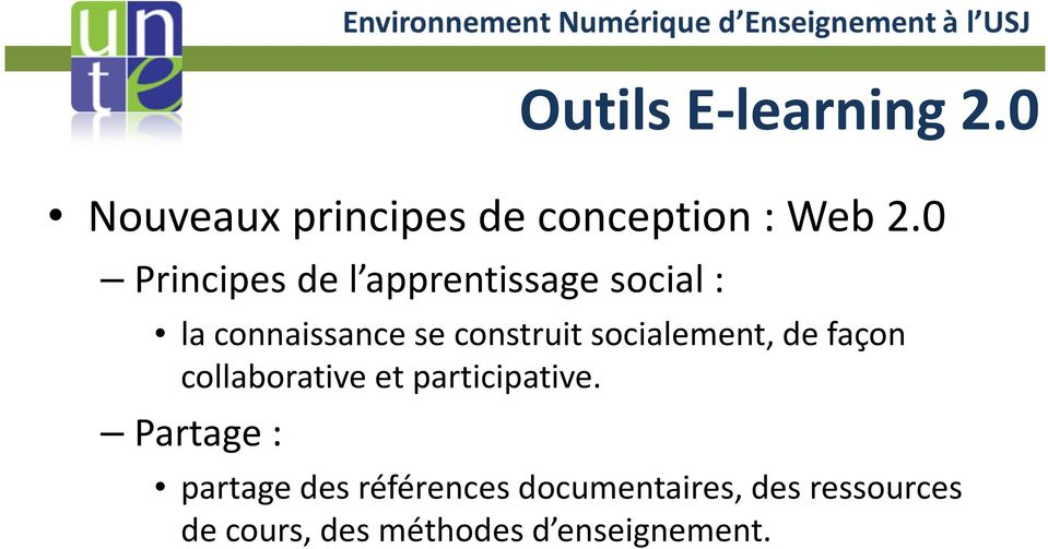 socialement, de façon collaborative et participative.