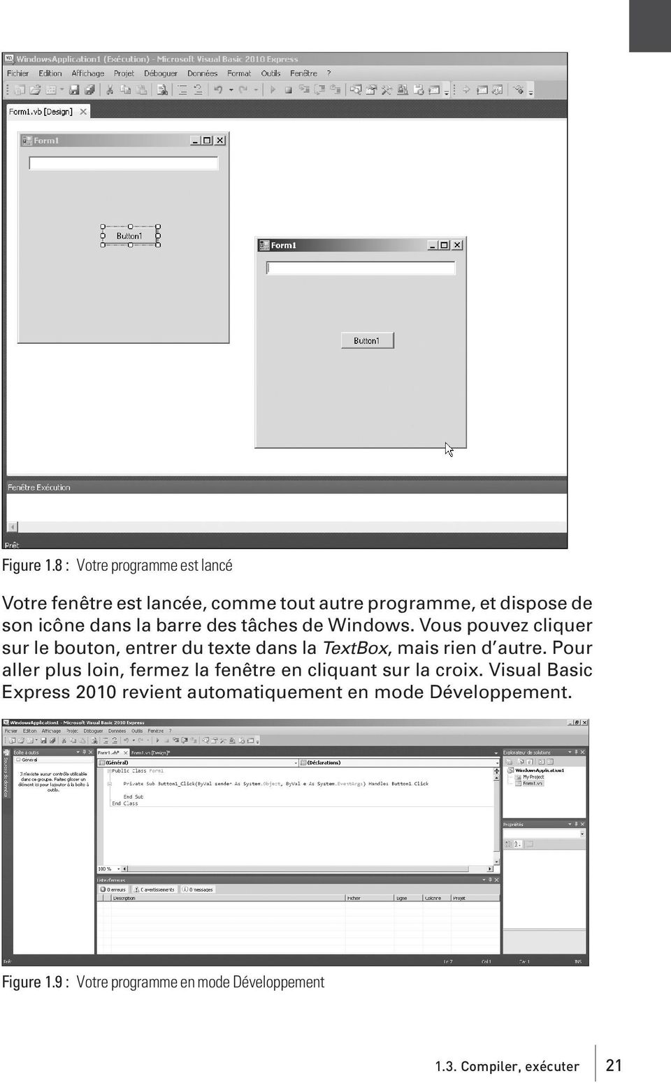 la barre des tâches de Windows.