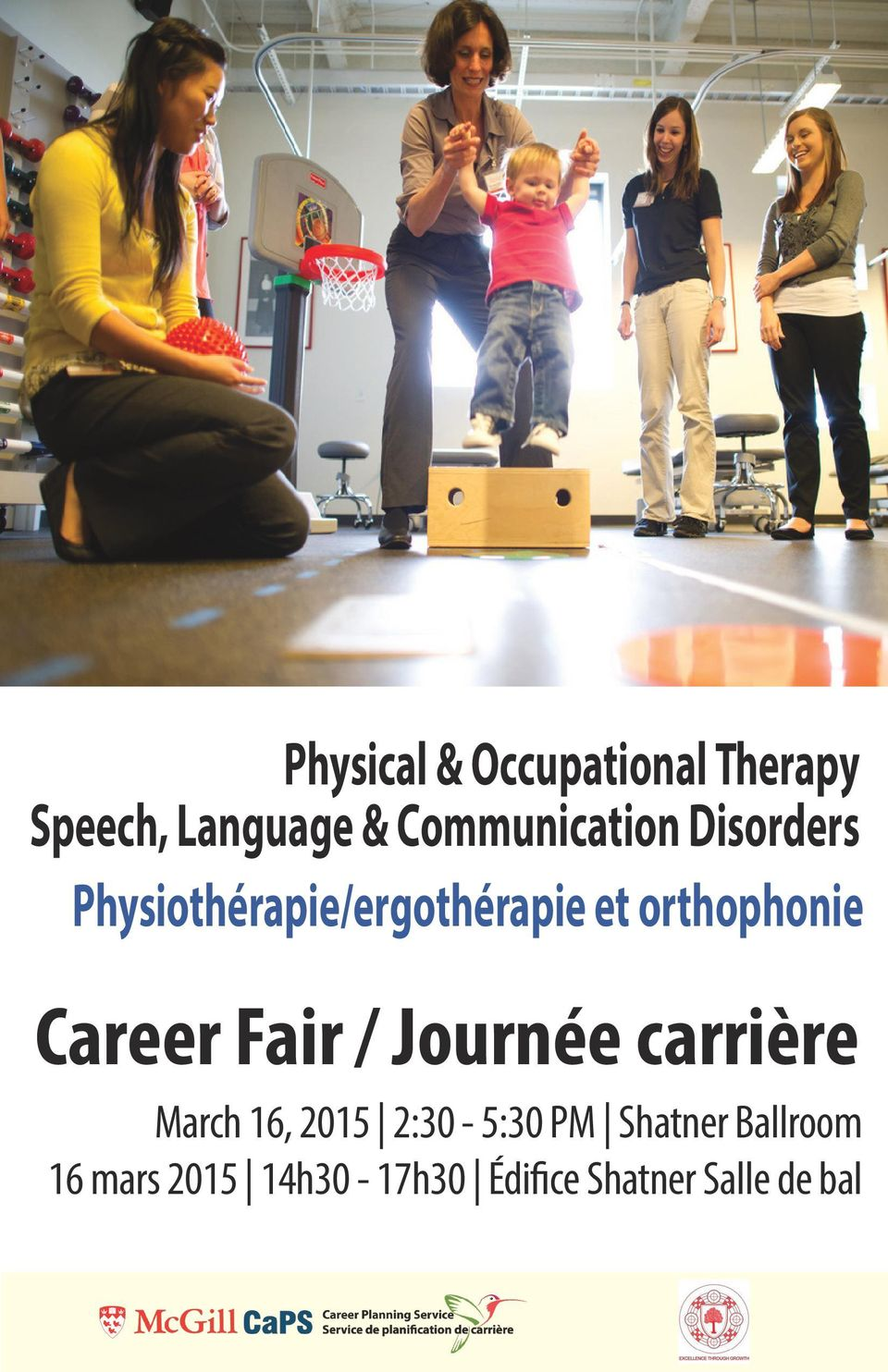 Career Fair / Journée carrière March 16, 2015 2:30-5:30 PM