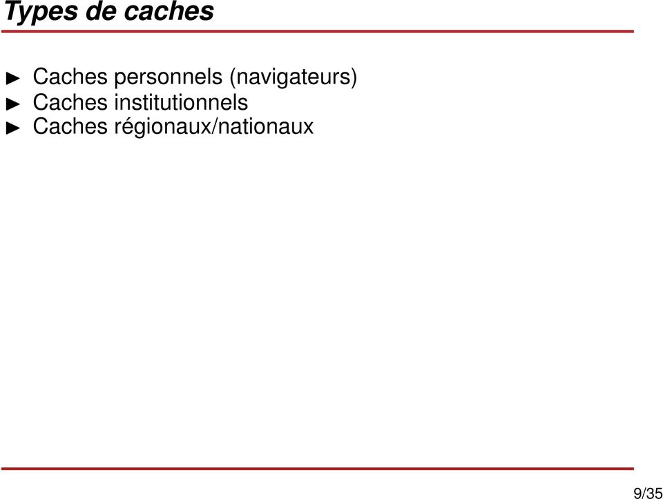 Caches institutionnels