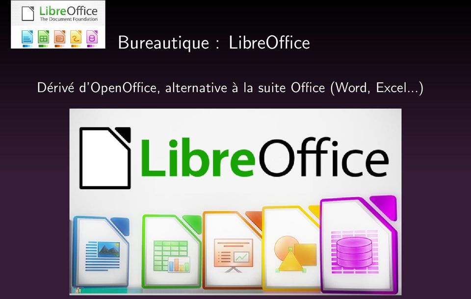 OpenOffice, alternative