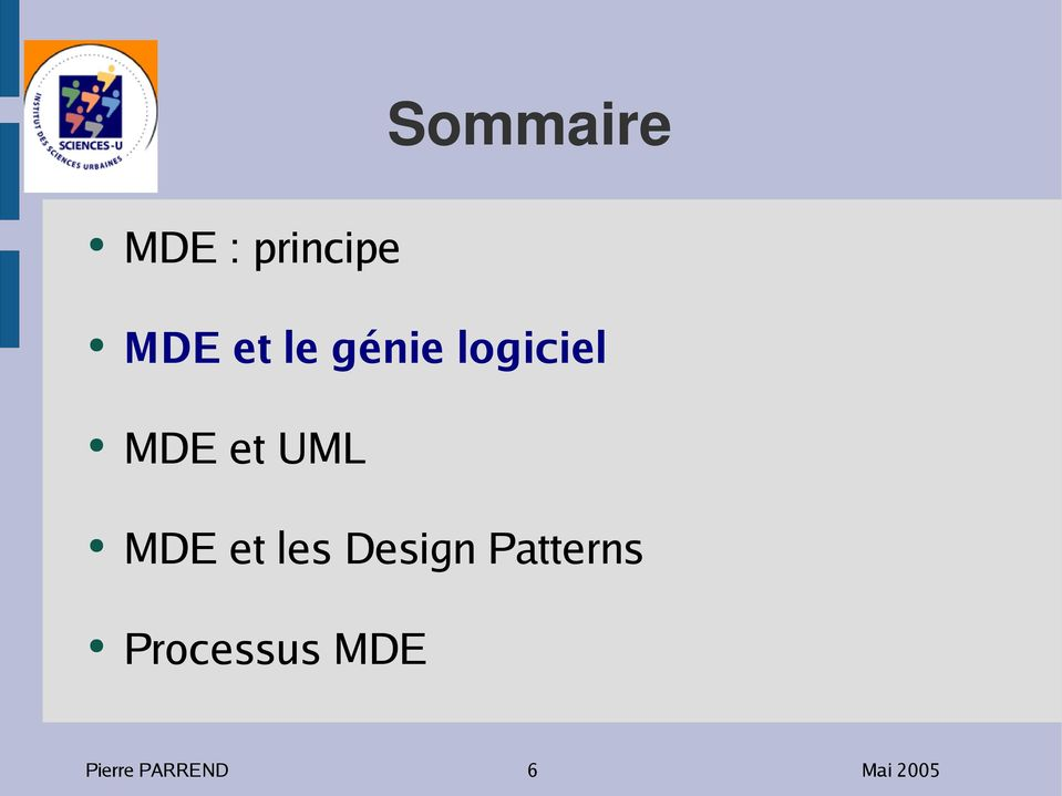 MDE et les Design Patterns