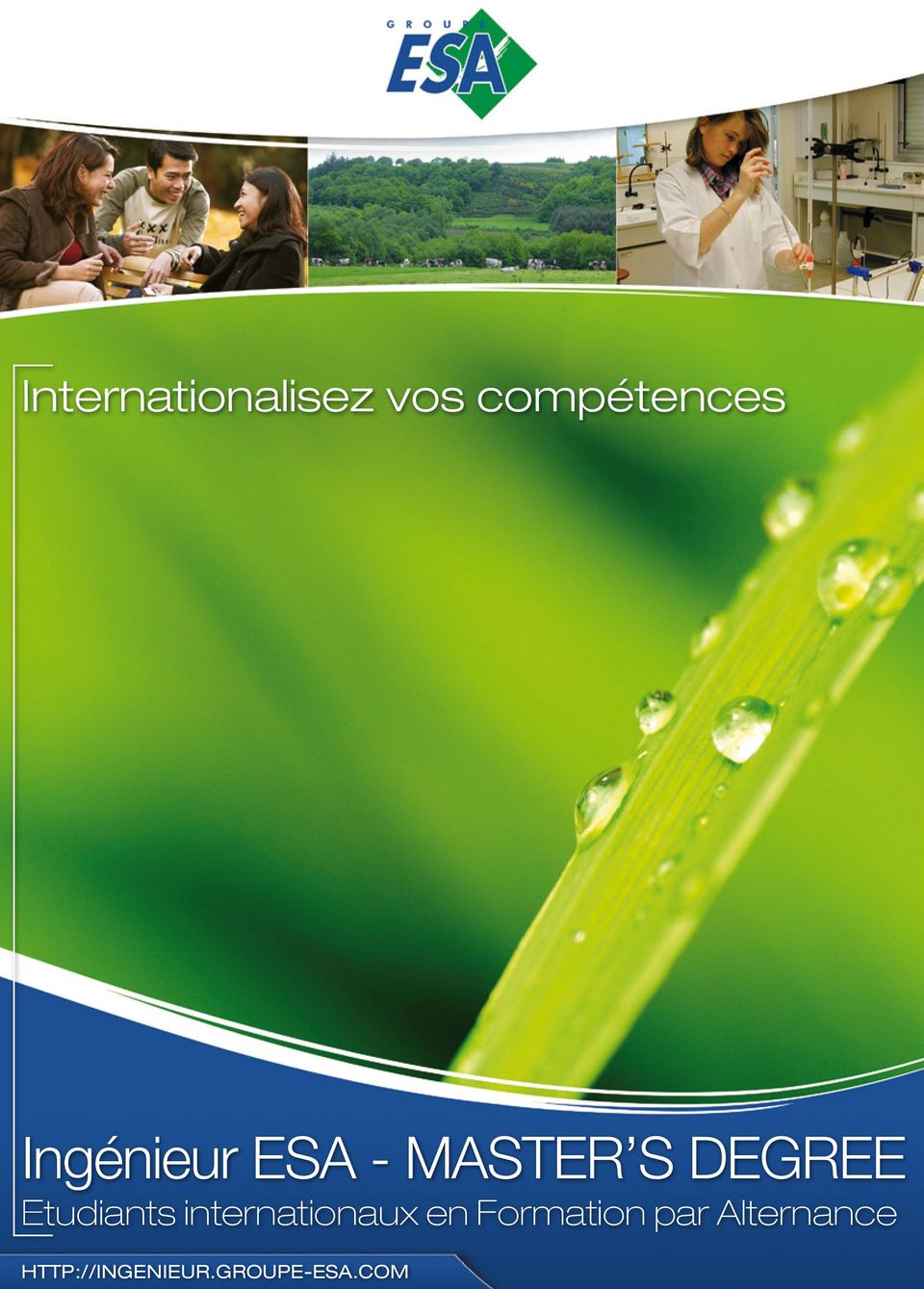 Etudiants internationaux en Formation