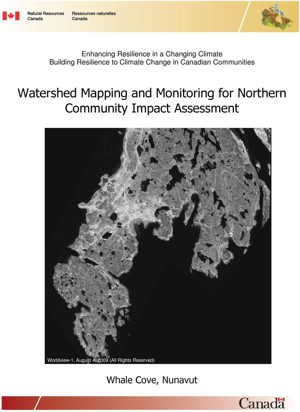 Watershed Mapping and Monitoring for Northern Community