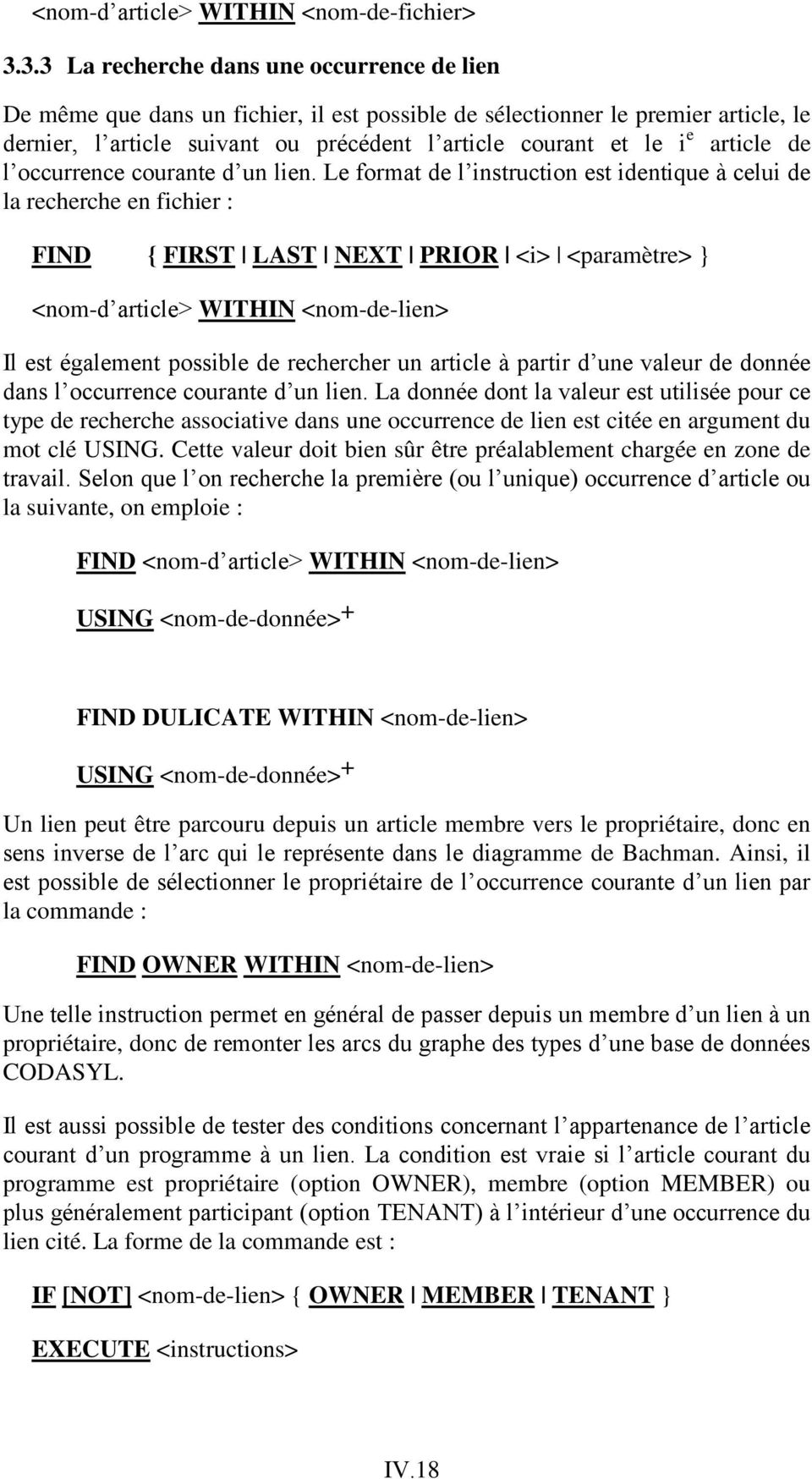 article de l occurrence courante d un lien.
