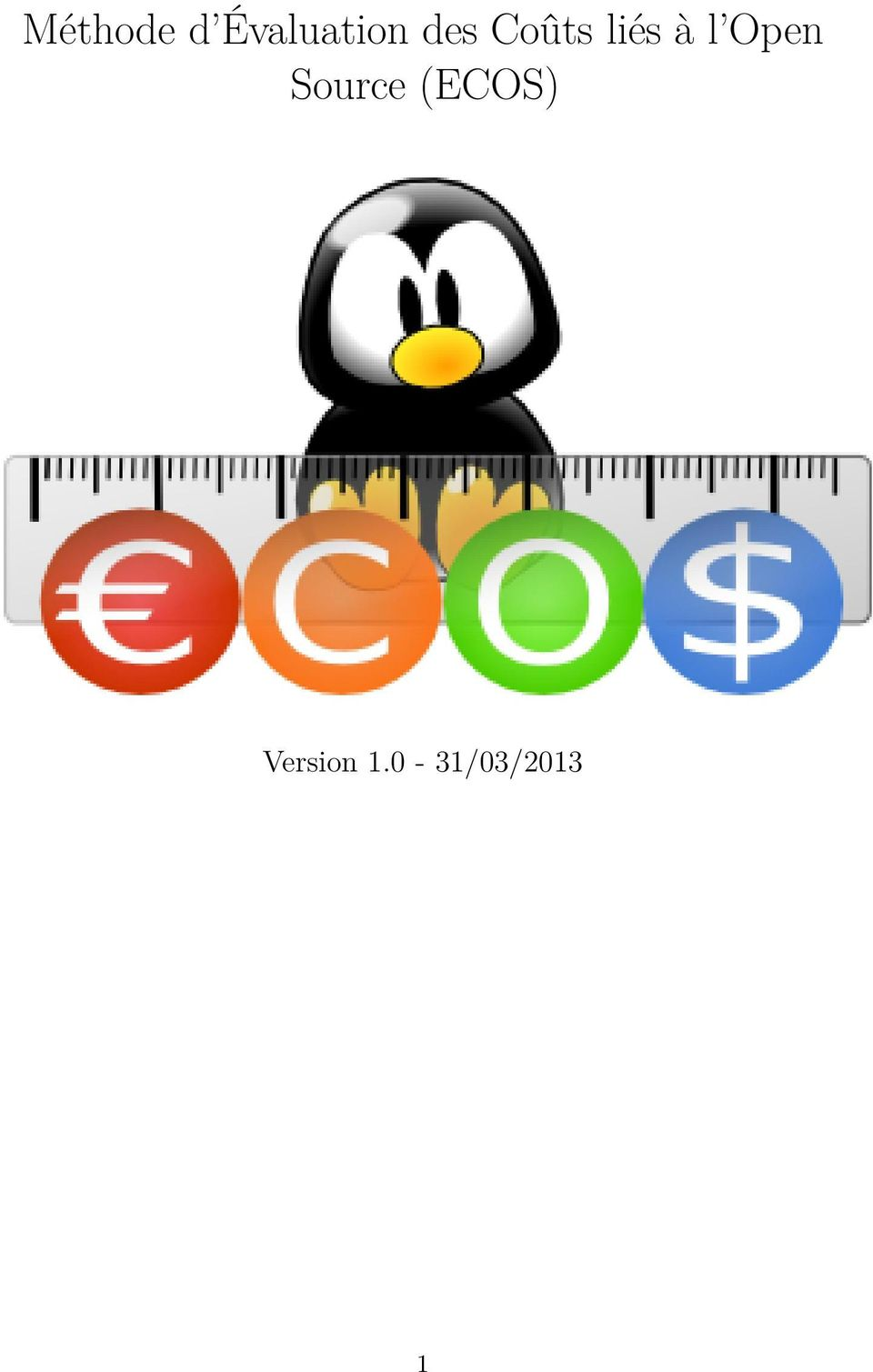 Open Source (ECOS)