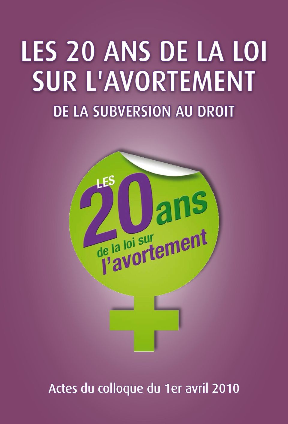 SUBVERSION AU DROIT