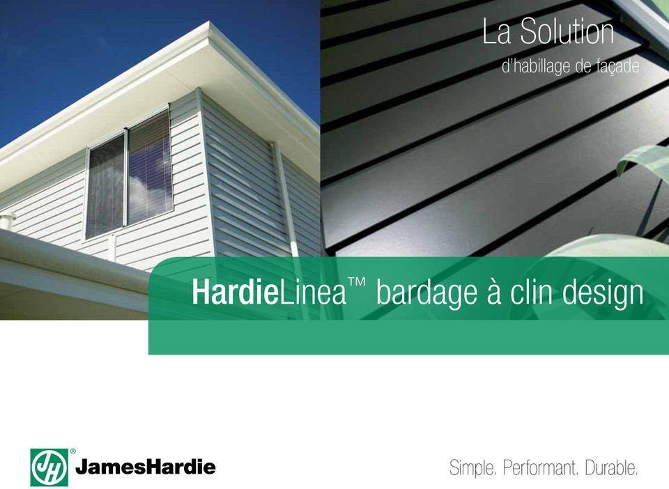 bardage à clin design