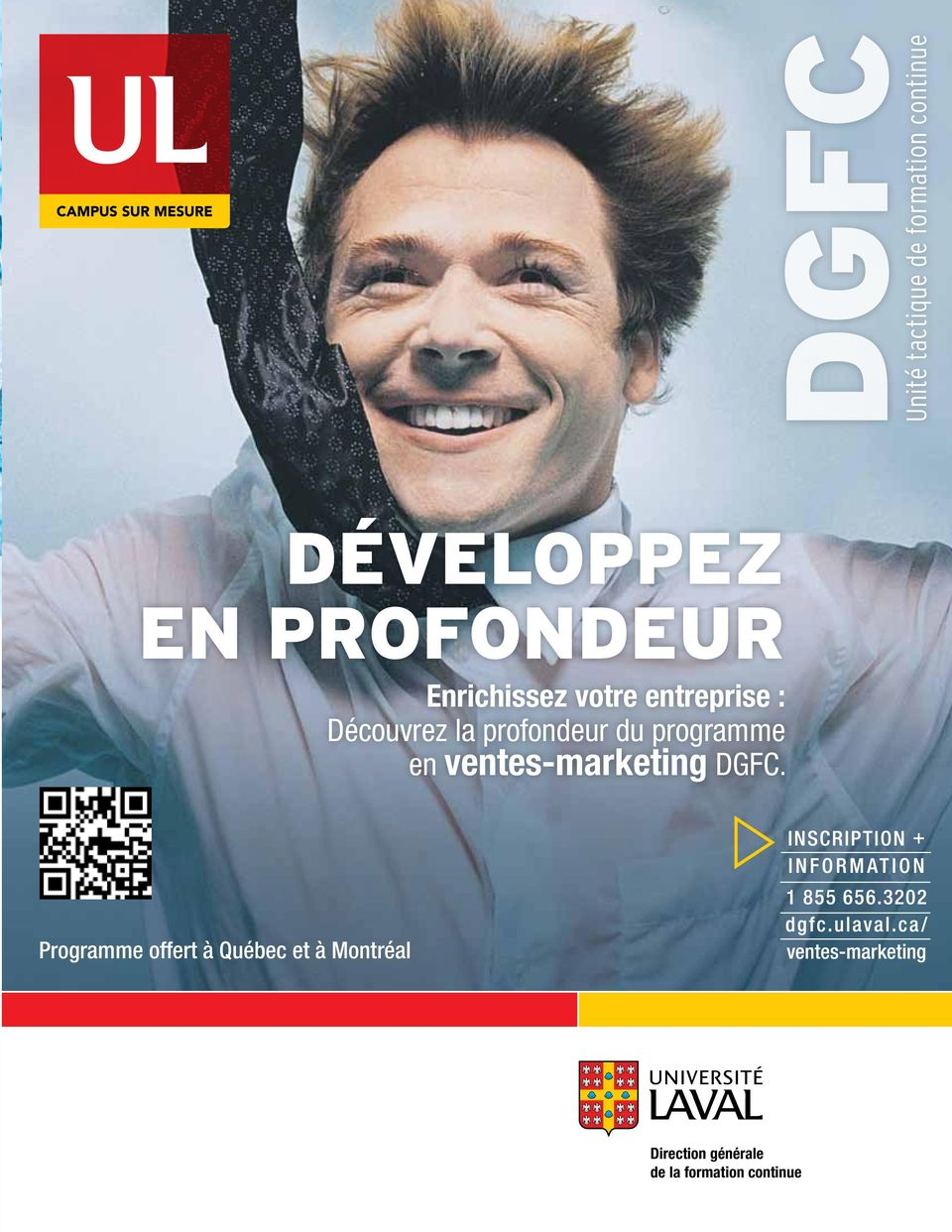 profondeur du programme en ventes-marketing DGFC.