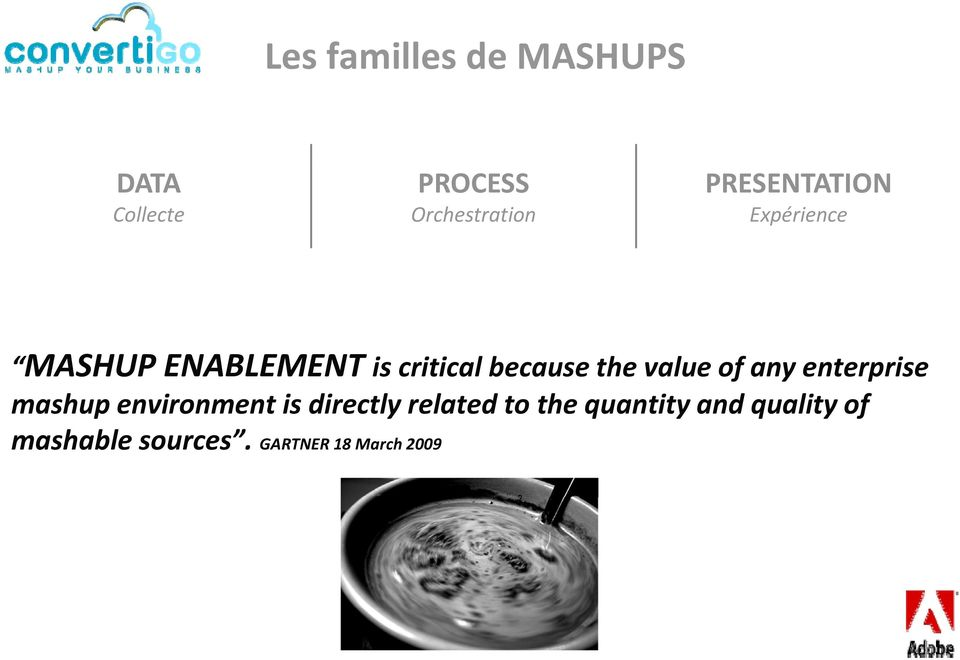 the value of any enterprise mashup environment is directly