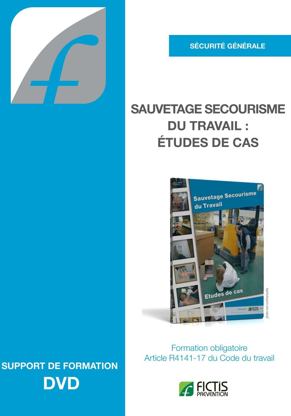 contractuelle SUPPORT DE FORMATION DVD