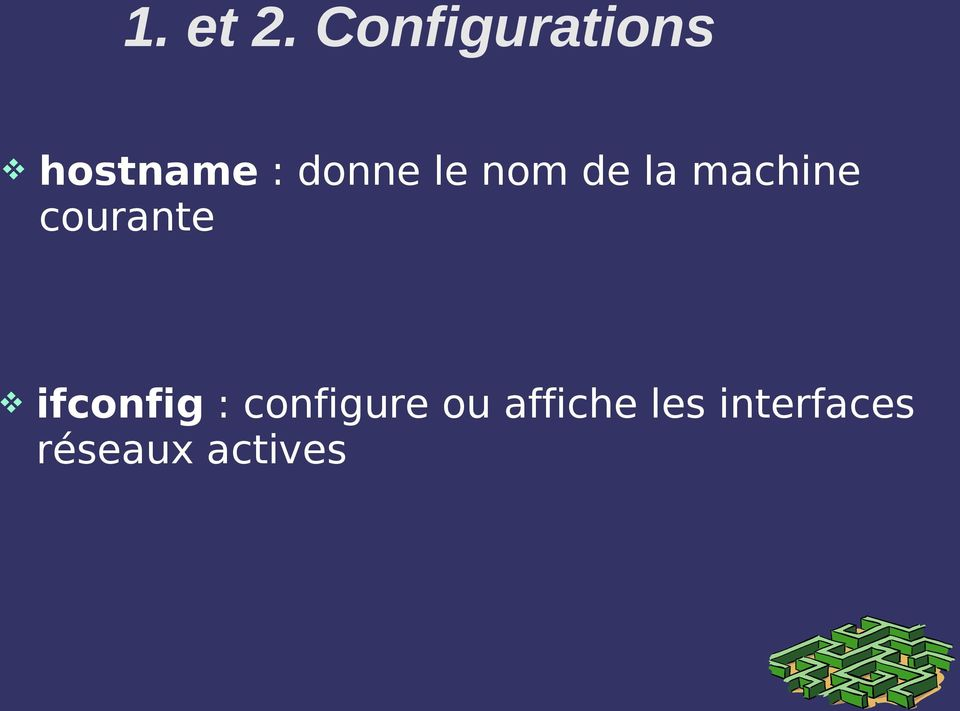 le nom de la machine courante