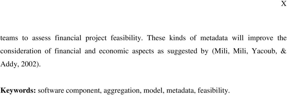 financial and economic aspects as suggested by (Mili, Mili,