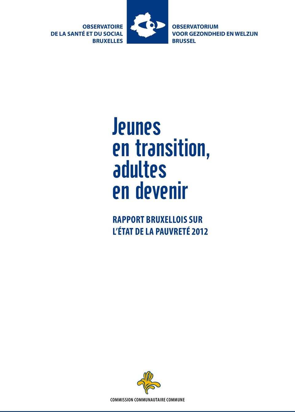 Jeunes en transition, adultes en devenir Rapport