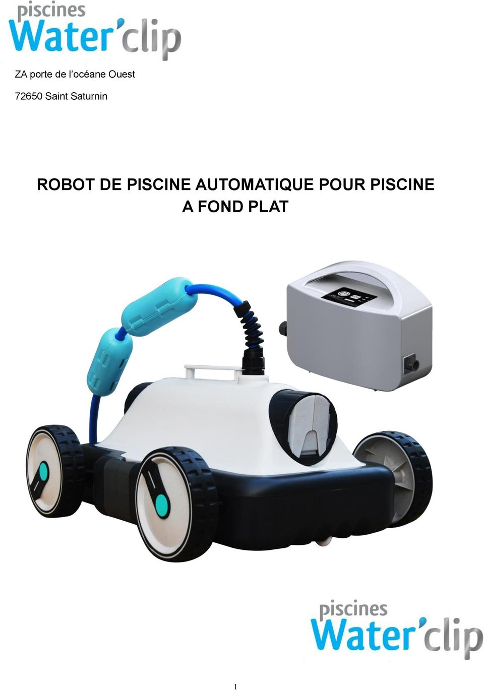 Robot de piscine automatique beautiful robot de picine et for Aspirateur piscine kontiki