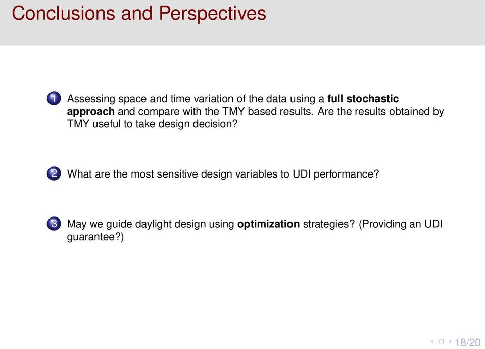 Are the results obtained by TMY useful to take design decision?