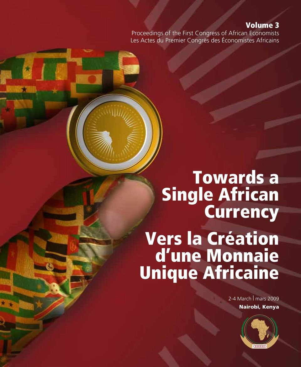 Africains Towards a Single African Currency Vers la