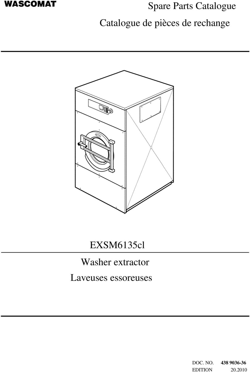 Washer extractor Laveuses
