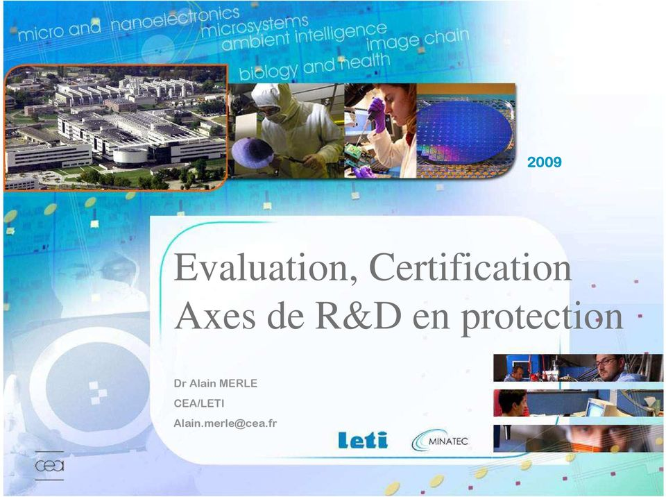 R&D en protection Dr