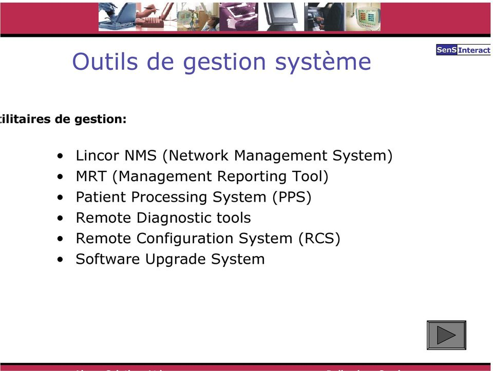 (Management Reporting Tool) Patient Processing System (PPS)