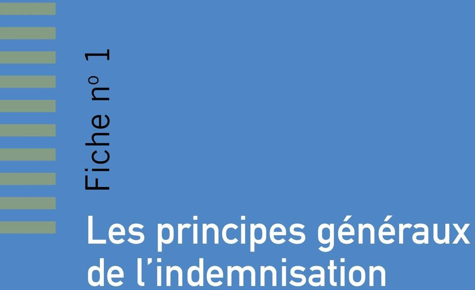 indemnisation Le recours
