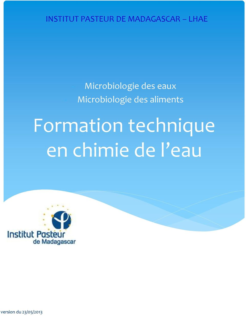 Formation technique en
