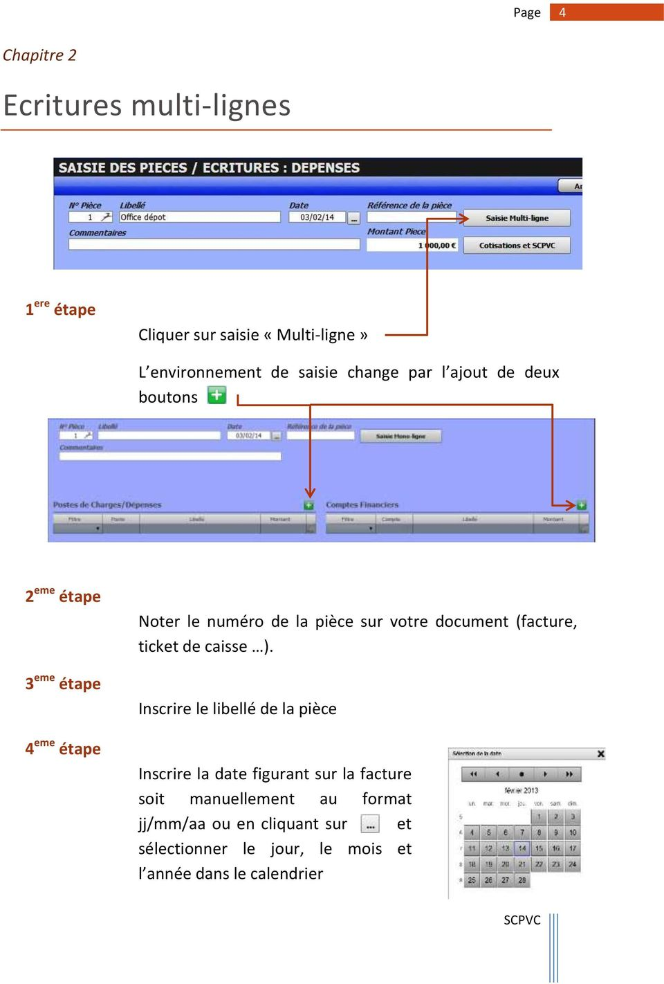 document (facture, ticket de caisse ).