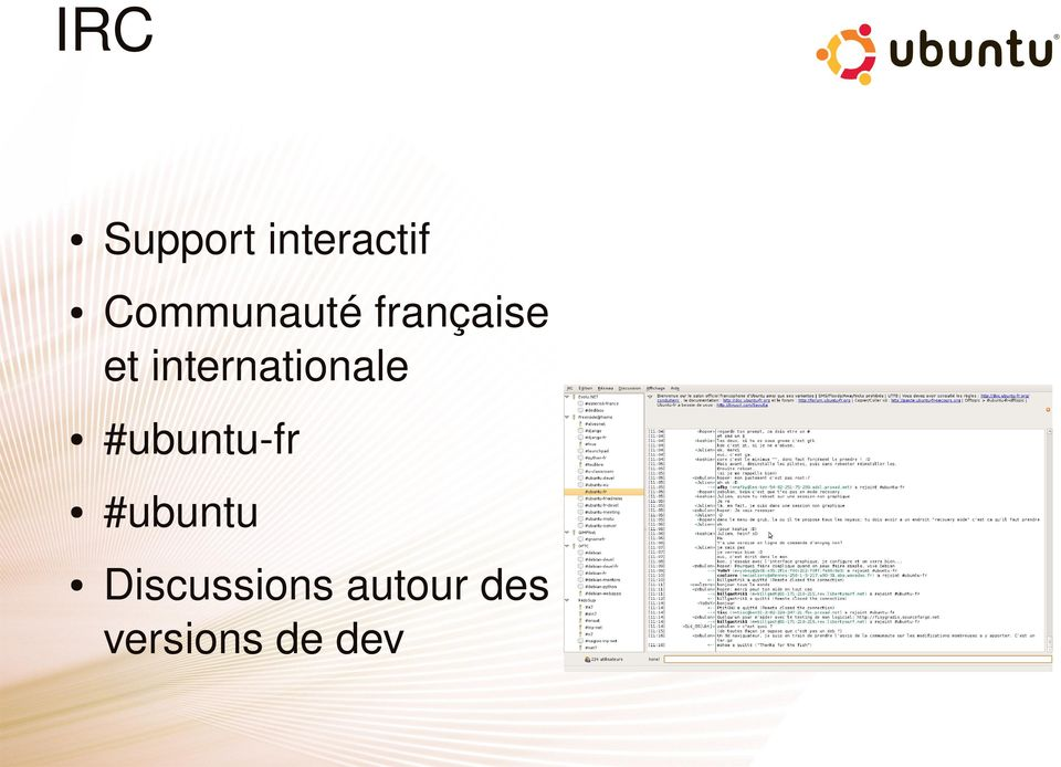 internationale #ubuntu fr