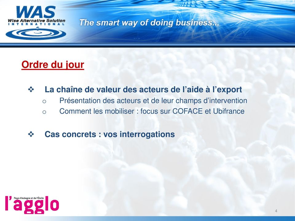 champs d intervention o Comment les mobiliser : focus