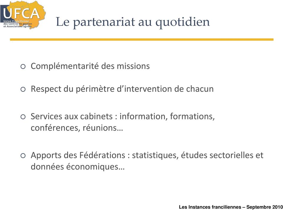 cabinets : information, formations, conférences, réunions