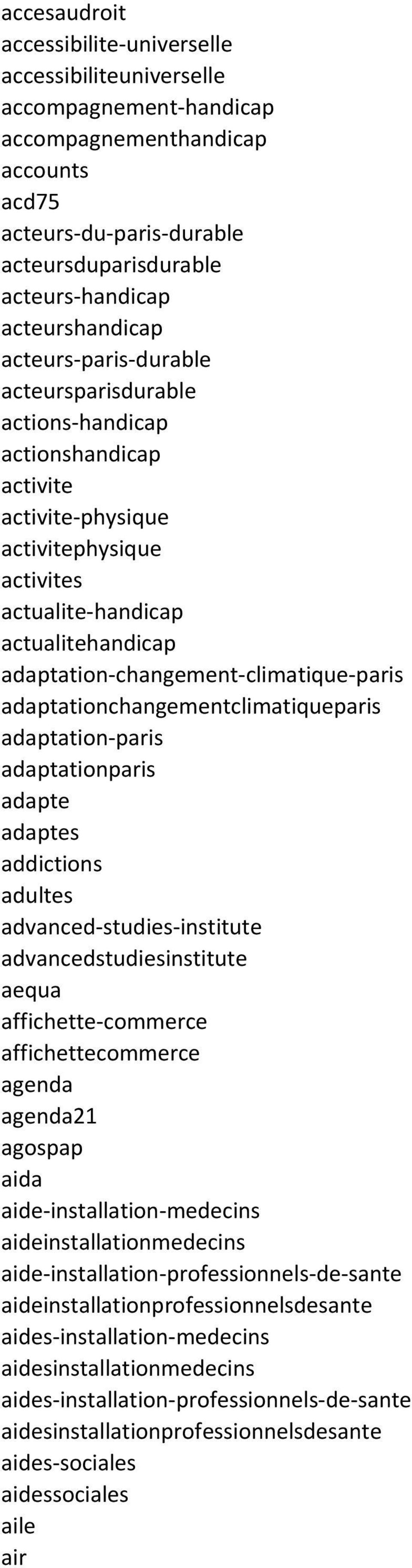 adaptation-changement-climatique-paris adaptationchangementclimatiqueparis adaptation-paris adaptationparis adapte adaptes addictions adultes advanced-studies-institute advancedstudiesinstitute aequa