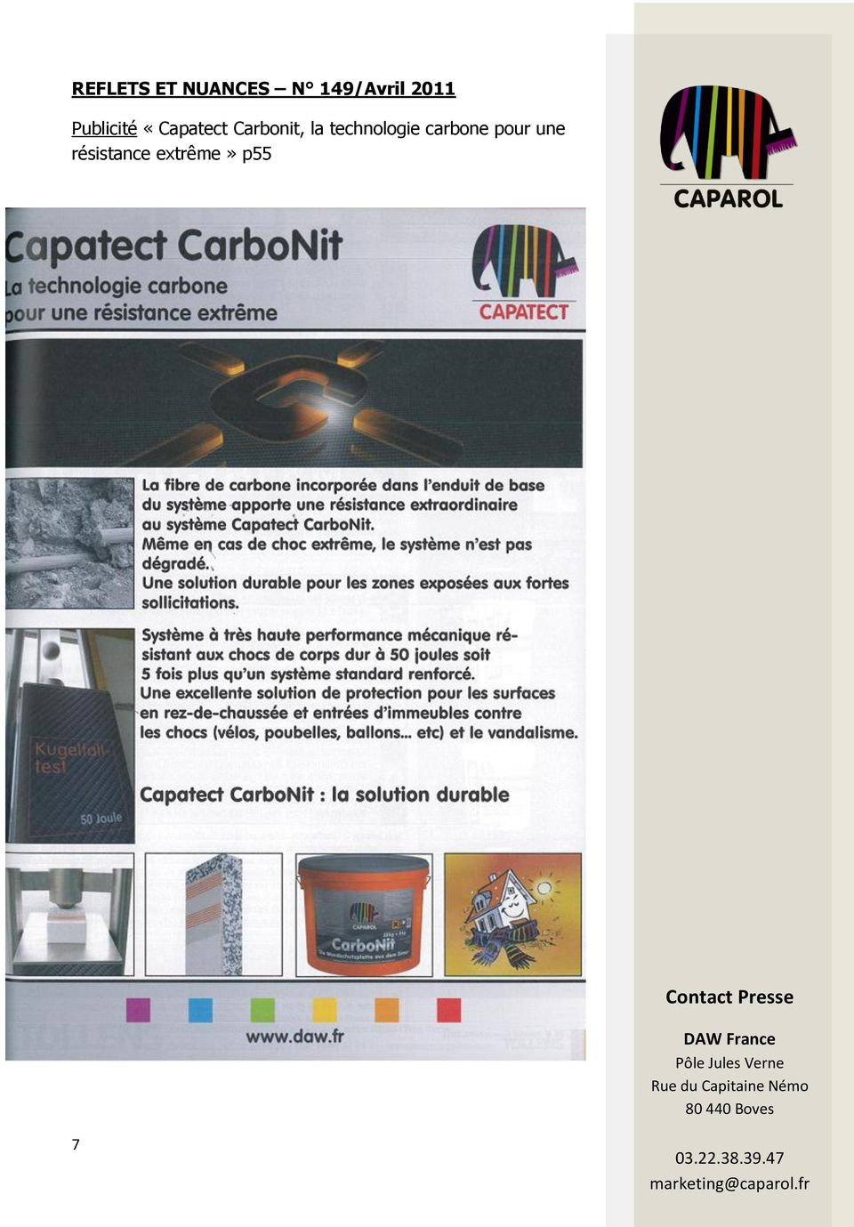Carbonit, la technologie