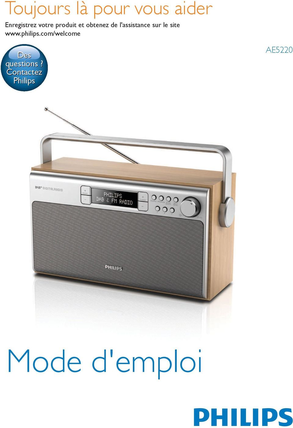 sur le site www.philips.