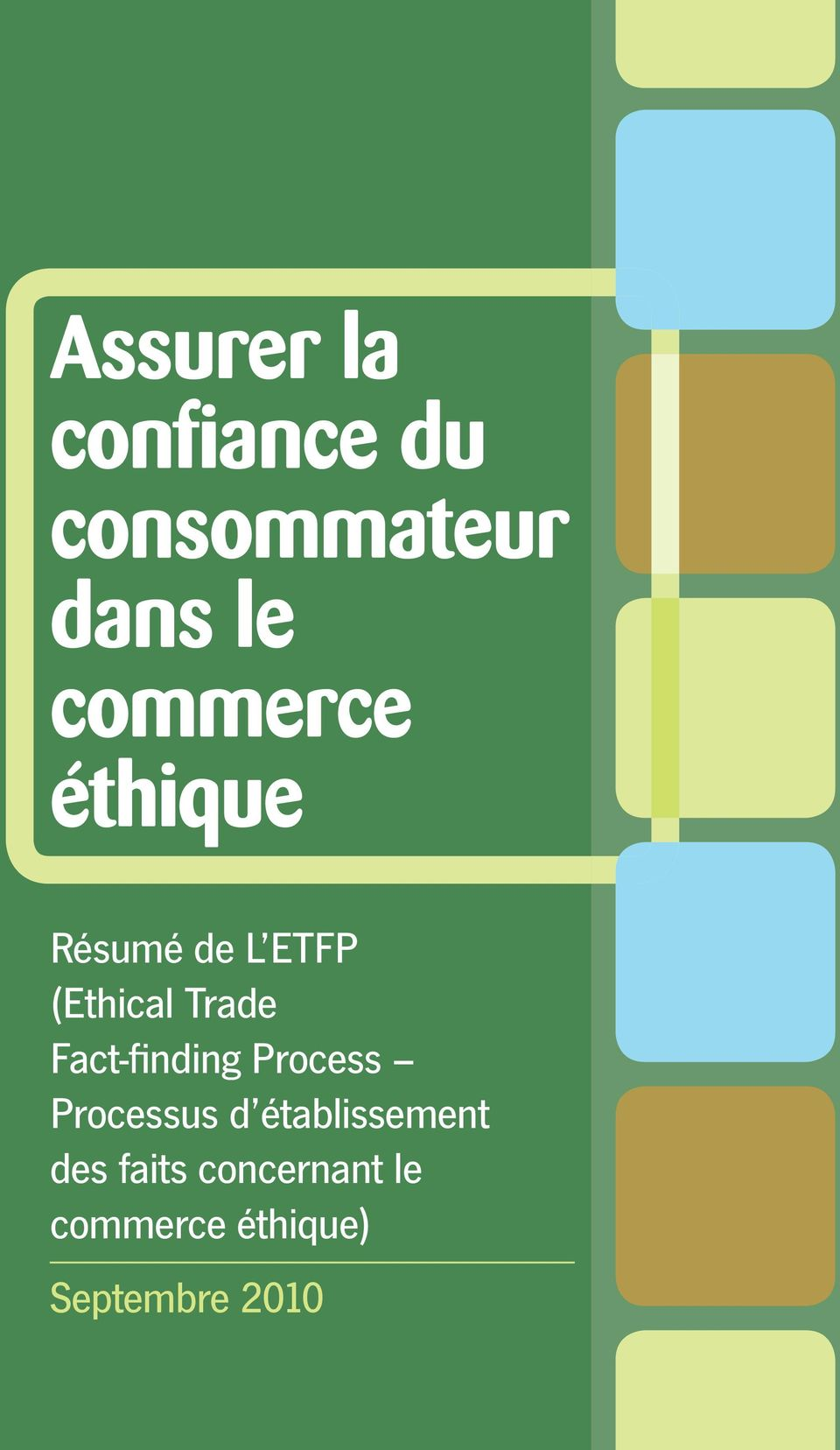 Fact-fi nding Process Processus d établissement