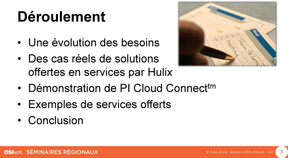 par Hulix Démonstration de PI Cloud Connect