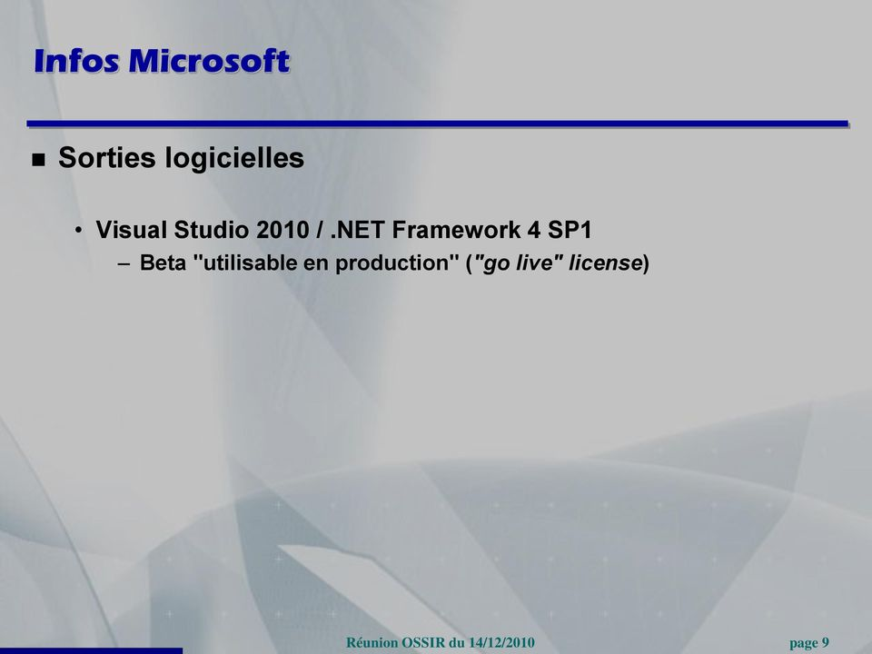 NET Framework 4 SP1 Beta