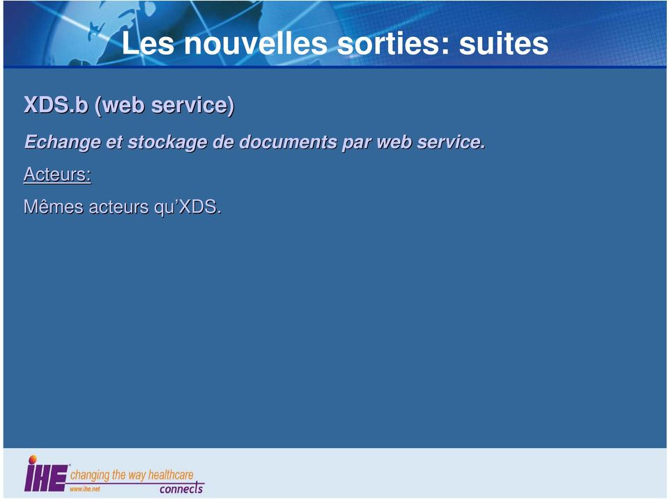 stockage de documents par web
