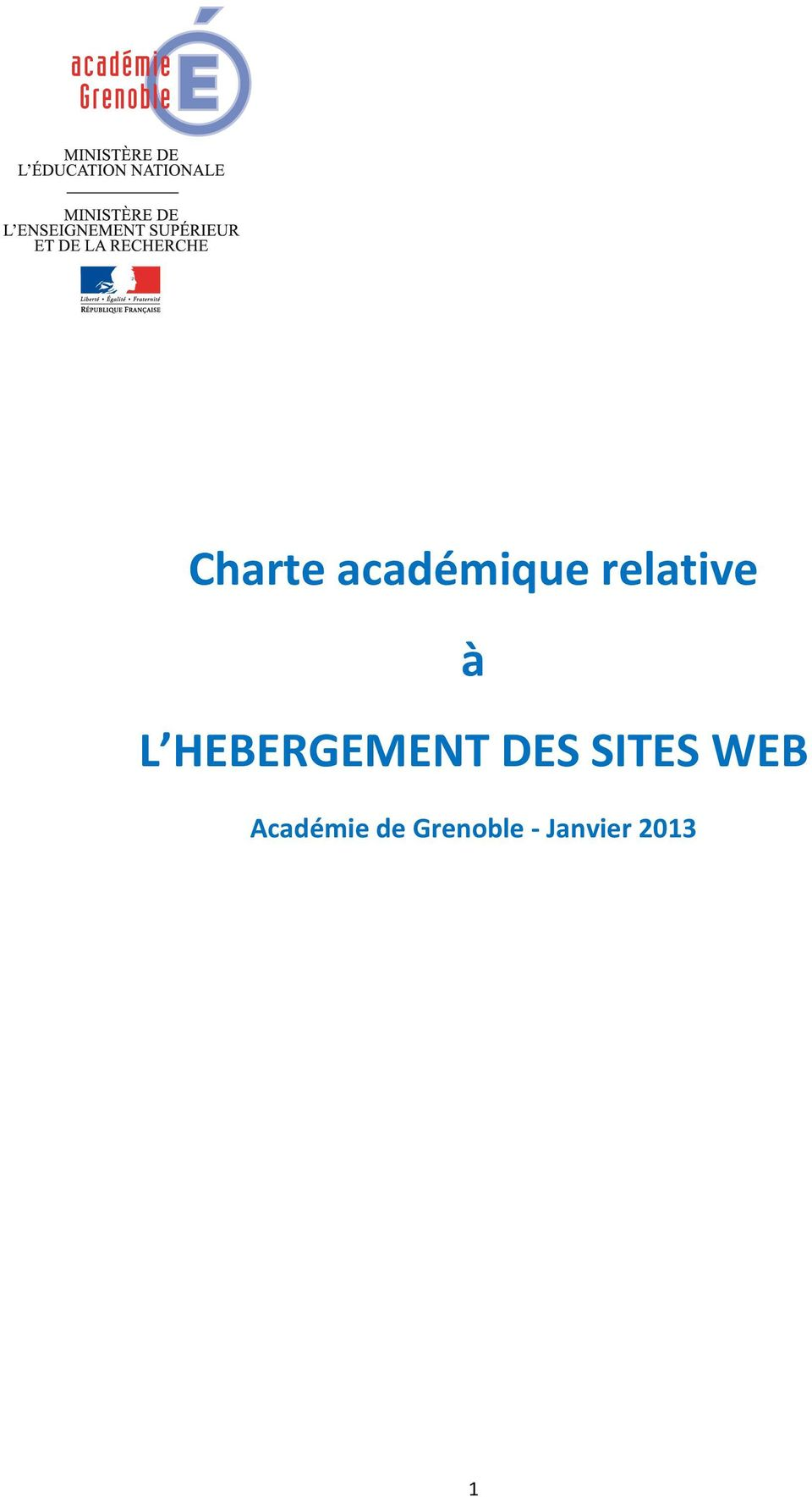 HEBERGEMENT DES SITES