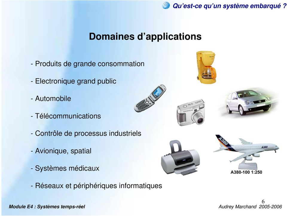 Electronique grand public - Automobile - Télécommunications -