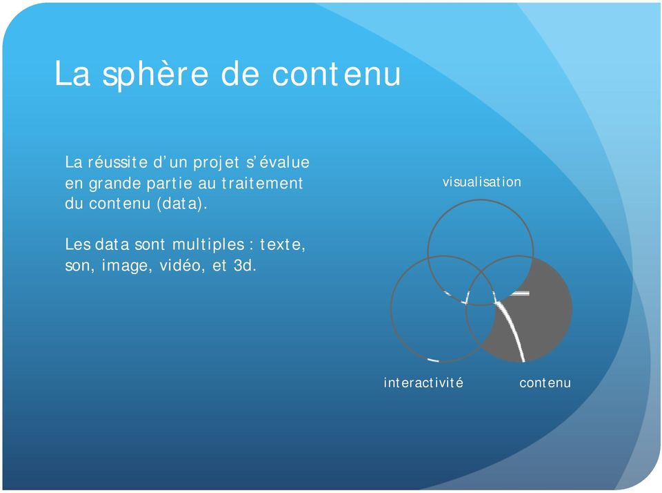 traitement du (data).