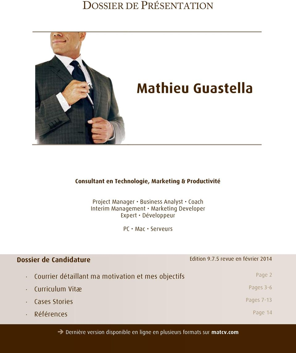 Candidature Edition 9.7.